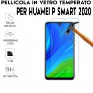 Pellicola per Huawei P Smart 2020 Antiurto in Vetro Temperato Proteggi Schermo