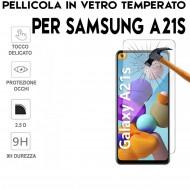 Pellicola per Samsung A21S in Vetro Temperato Proteggi Schermo