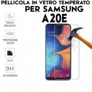 Pellicola per Samsung A20e in Vetro Temperato Proteggi Schermo