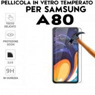 Pellicola per Samsung A80 in Vetro Temperato Proteggi Schermo