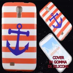 Cover Back case in gomma di silicone per Samsung S4 Ancora Marina