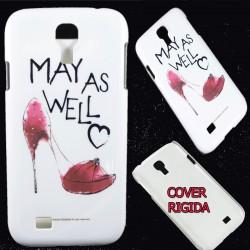Cover Back case rigida per Samsung S4 Scarpe tacco 12