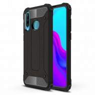 "Custodia per Huawei P40 Lite ""E"" Hybrid Armour TPU+PC Cover robusta e resistente Colore Nero"