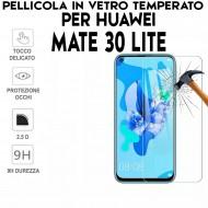 Pellicola per Huawei Mate 30 Lite Antiurto in Vetro Temperato Proteggi Schermo