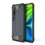 Custodia per Xiaomi Mi Note 10 e Note 10 Pro Hybrid Armour TPU+PC Cover robusta e resistente Colore Nero