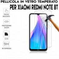 Pellicola per Xiaomi Redmi Note 8T Antiurto in Vetro Temperato Proteggi Schermo