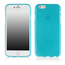 "METALLIC JELLY COVER iPhone 6 Plus 5.5"" blu"