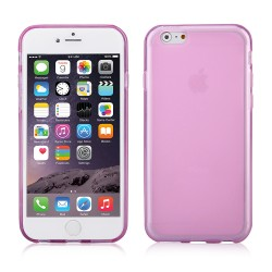 "COVER in gomma per iPhone 6 Plus 5.5"" rosa fucsia"