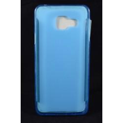 Cover Back case in gomma di silicone per  per Samsung A3 (A310)2016 azzurra