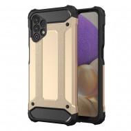 """Custodia per Samsung A32 """"5G"""" Hybrid Armour TPU+PC Cover robusta e resistente Colore Nero"""