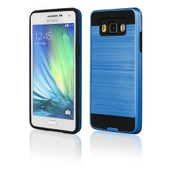 Cover Back case in silicone per Samsung A5 (A500) blu