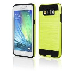 Cover Back case in silicone per Samsung A5 (A500) verde