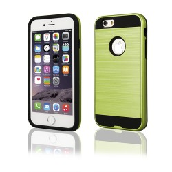 "Cover BACK CASE ""MOTOMO METALLIC"" iPhone 6-6s 4.7 verde"