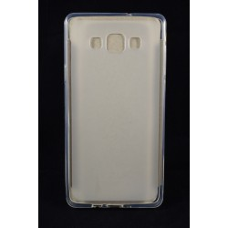 Cover Back case in gomma di silicone per  per Samsung core prime G360  con tigre