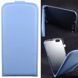 Custodia cover  x Huawei P8 LITE a libro/portafoglio  con porta tessere ,colore Blu