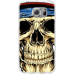 Cover per samsung Grand Neo Back case in silicone con Teschio con bandana