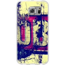 Cover Back case in silicone per samsung  J1 (J100) vintage