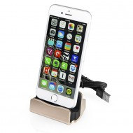 Base di ricarica trasferimento dati Docking station X iPhone 5/SE/6/7/8 azzurro