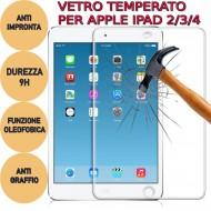 Pellicola protettiva Global Technology GT in vetro temperato x Apple iPad 2/3/4