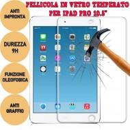 "Pellicola proteggi display vetro temperato 9H per Tablet Apple Ipad pro 10.5"""
