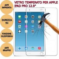 Pellicola proteggi schermo tablet in vetro temperato 9H x Apple iPad Pro 12.9