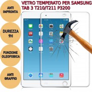 Pellicola proteggi display vetro temperato Samsung Galaxy TAB 3 T210/T211 P3200