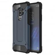 Custodia Hybrid Armour TPU+PC Cover robusta e resistente per Samsung S9 Plus (G965) Colore Blu