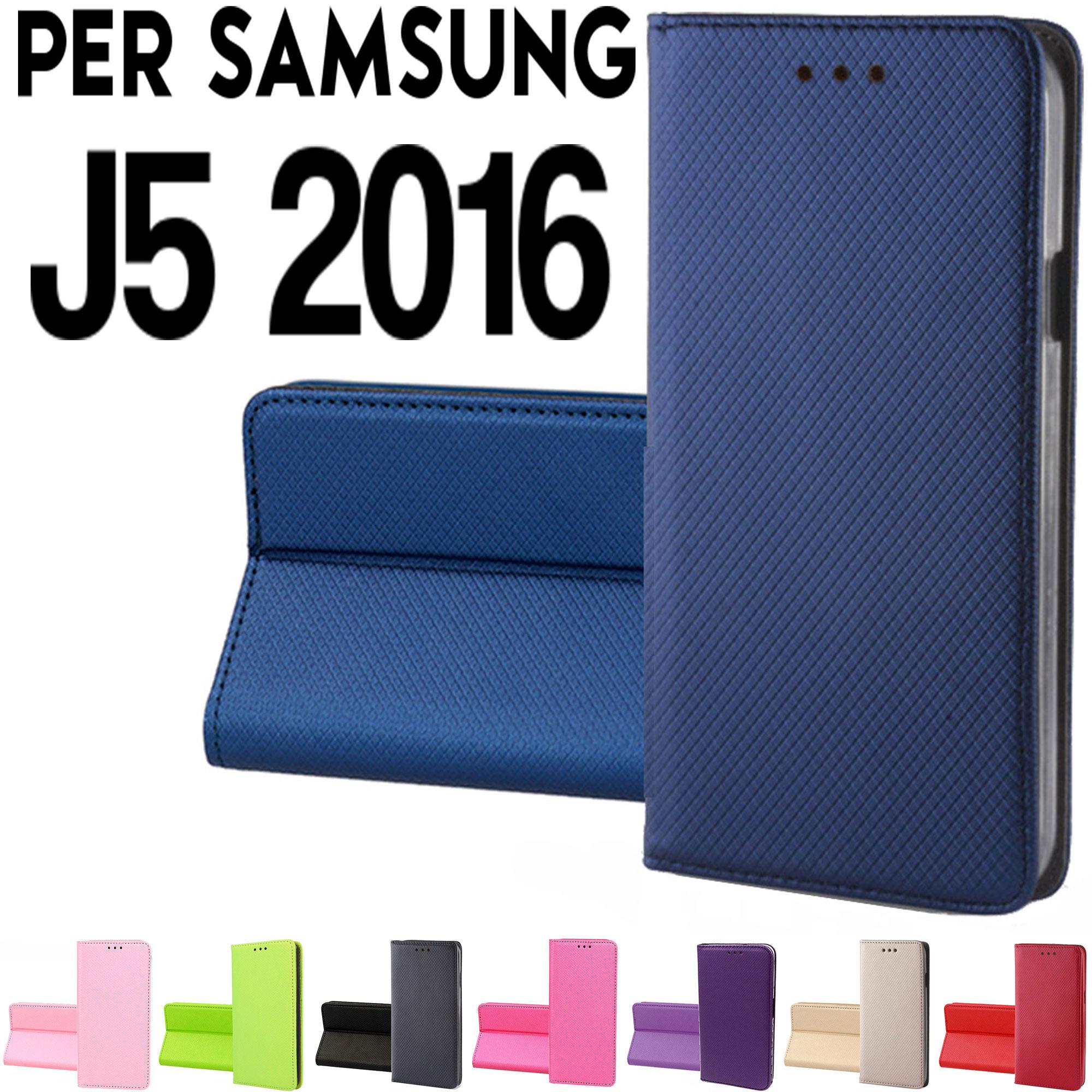 custodia libro samsung j5 2016